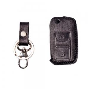 کاور ریموت چرم طبیعی پژو پارس دو کلید مدل ۳۰۵۶